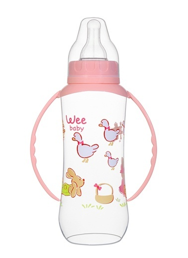 Wee Baby 745 Kulplu PP Biberon 270ml-Wee